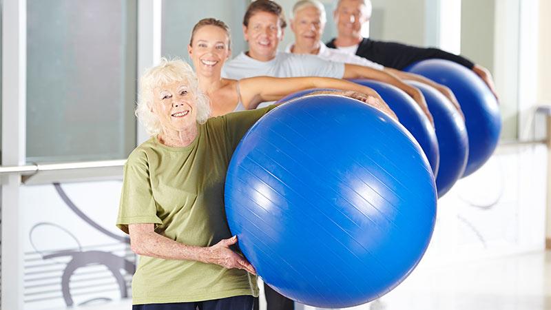 Ejercicio en personas mayores: claves y recomendaciones