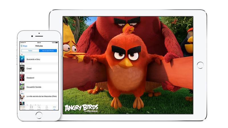 Cómo compartir tus compras en iOS con amigos y familiares