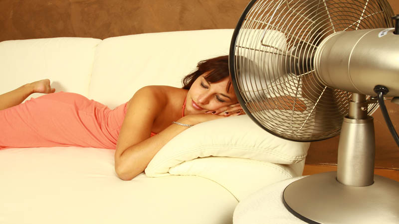 dormir sin aire acondicionado