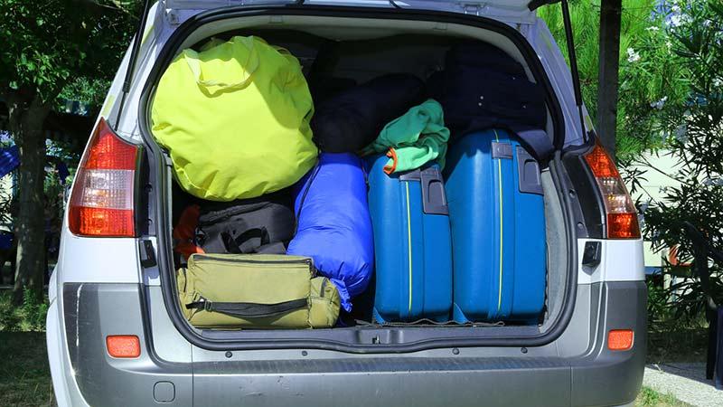 Cómo colocar el equipaje de forma segura