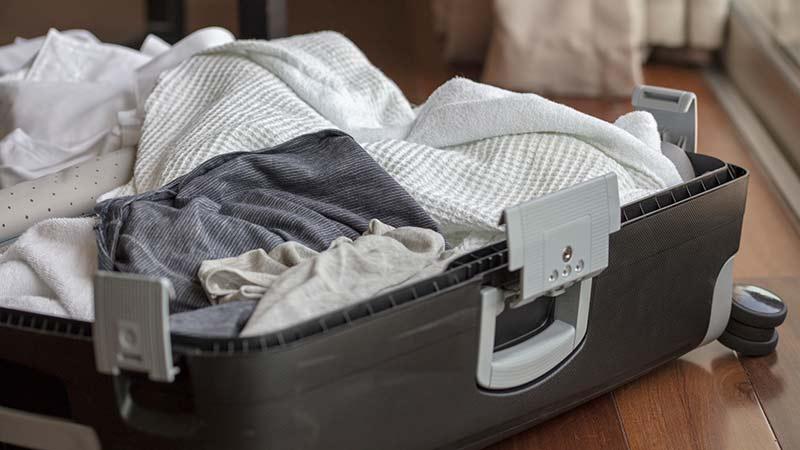 Consejos para deshacer las maletas tras las vacaciones