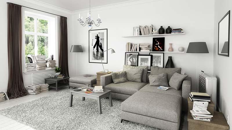 10 ideas para crear la sensación de más espacio en tu casa