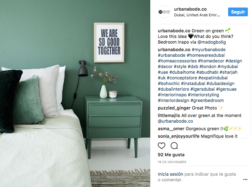 colores relajantes dormitorio verde oliva