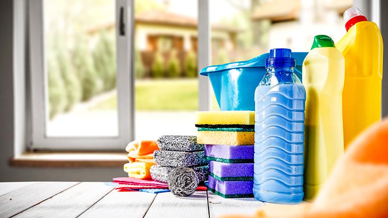 Cada cuánto limpiar las diferentes zonas de la casa