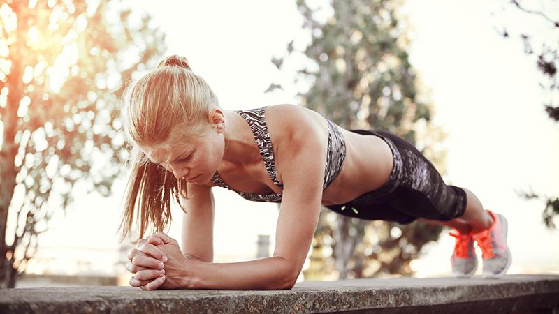 20 maneras de hacer «plank»