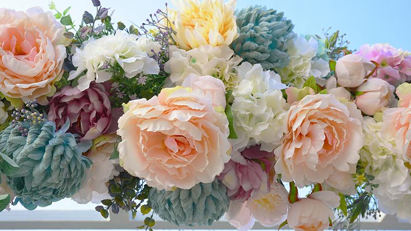 Como limpiar flores artificiales