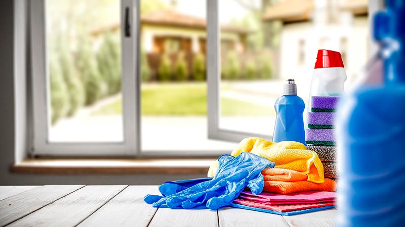 Nueve trucos para una limpieza exprés del hogar