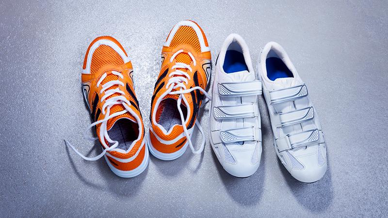 Cómo lavar el calzado deportivo