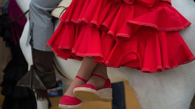 Cómo limpiar un traje de flamenca