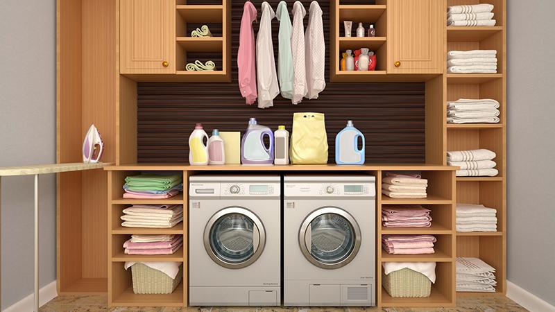 Cinco productos de lavandería básicos para tu cuarto de lavado