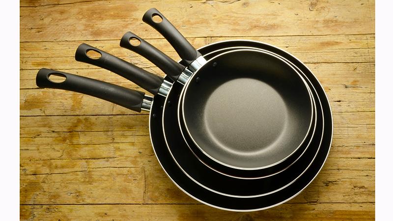 Consejos para cuidar utensilios antiadherentes de cocina