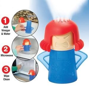 Diez artilugios de limpieza ingeniosos y baratos: limpiador microondas