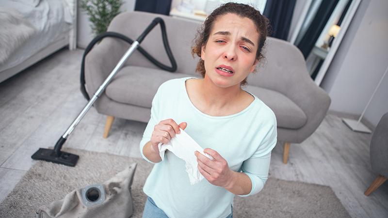 Trucos de limpieza para casas con alérgicos
