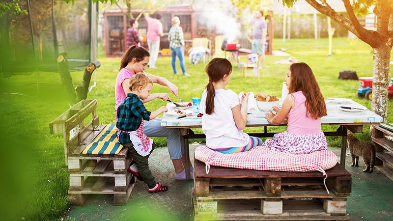 Cómo cuidar la alimentación de los niños en verano