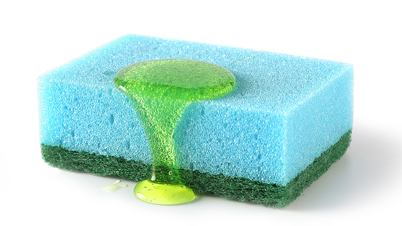 Usos alternativos del jabón lavavajillas