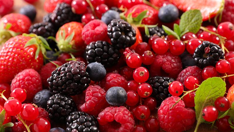 ¿Cuáles son las frutas con menos azúcar?