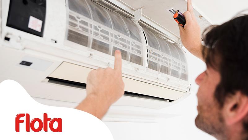 limpiar los splits de aire acondicionado